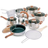 OXONE Jumbo Cookware Set [OX-988FSN] - Panci Set